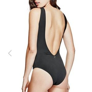 Guess Swim - Guess Lace-Up One Piece